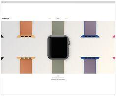 wow- web #responsive #website #apple #design #watch
