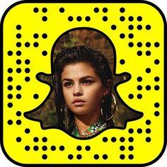 Selena Gomez Snapchat Code