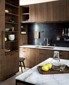 Helen Street by mw|works - InteriorZine #kitchen #furniture #wood #decor #interior