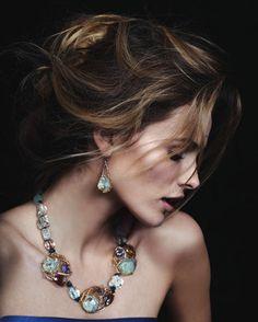 Edita Vilkeviciute for Neiman Marcus March Lookbook 2013