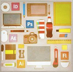 Designer desk by eozturegen