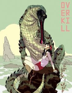 "OMG Posters! » Archive » Tomer Hanuka's ""Overkill"" Book and Bonus Art Print #art"