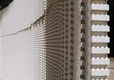 One woman, 6 weeks, and 270,000 white LEGO bricks #lego #installation