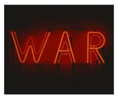manystuff.org — Graphic Design daily selection #neon #war #typography