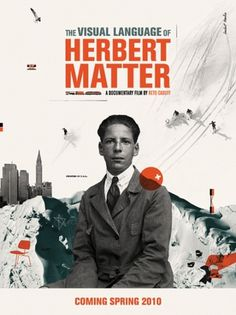 HERBERT_MATTER_POSTER.jpg (437×582) #movie #photography #portrait #poster #type #collage