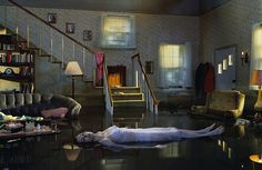 Gregory Crewdson #surreal #woman