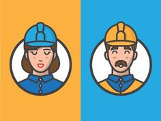 Workers #illustration