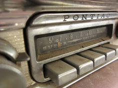 Pontiac radio #letters #vintage #auto