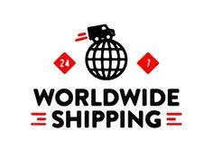 Dribbble - Worldwide Shipping. by Tim Boelaars