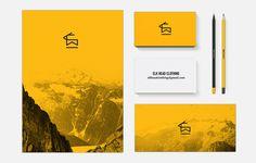 elk_brand2.jpg #mock #business #card #up #stationery #logo