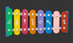 Isolated xylophone psd Free Psd. See more inspiration related to Music, Music notes, Notes, Psd, Musical instrument, Musical, Object, Instrument, Horizontal, Xylophone and Isolated on Freepik.