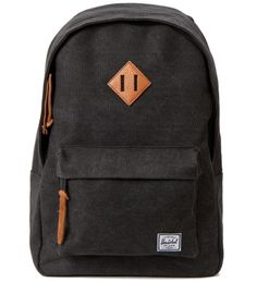 Herschel Supply Co. Heavy Canvas Black Woodlands Backpack | Hypebeast Store #fashion #bag