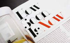 Fonts in Use | TYPECACHE.COM #editorial