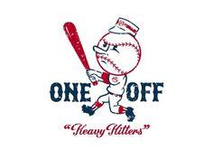 Heavyhitters1b #off #hitters #illustration #one #baseball