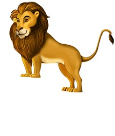 Lion: Circus Skill Game Object/Character   prominentt games