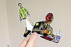 josh parkin breaking bad sticker pack 01 #breaking #josh #set #illustration #parkin #sticker #bad