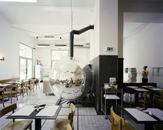 4 disco volante pizzeria in vienna by lukas galehr #disco #fire #oven #restaurant