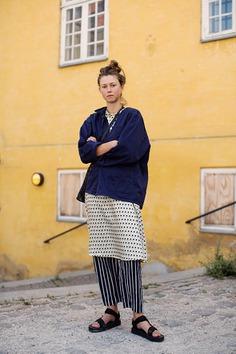 Diamonds, Stripes, & Solids, Copenhagen | The Sartorialist