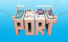 Show some new stuff, suckas....   YayHooray #type #3d #port