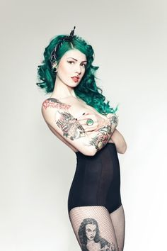 Fabiana Reis / Pinterest #tatoo #pin #up