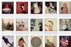 Gareth Pugh's Polaroids #fashion #gareth #pugh #polaroid