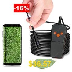 Dodosee #NK-WS1 #Dual #Camera #WiFi #Endoscope #Air #Conditioner #Detector #- #BLACK