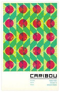 FFFFOUND! | 210_caribouweb.jpg 373×565 pixels #grid #design #color #poster