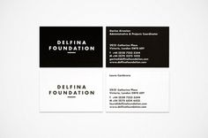 Delfina Bus cards #business #print #spin #identity #stationery #cards