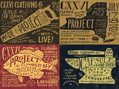 Jon Contino #typography #drawn #hand #illustration