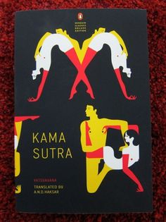 Penguin Classics Deluxe Edition of the Kama Sutra #design #color #book #simple #grid #cover #class #three