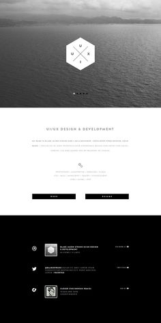 BW #layout #design #minimal