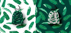 Tropical Banana leaf Patterns set on Behance