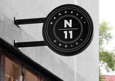 Neghelli 11 by Whiskey & Mentine #sign #design #graphic #identity #typography