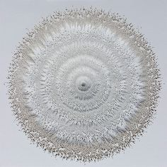 Intricate Organic Forms Cut from Paper by Rogan Brown #cut #sculpture #paper #art