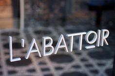 L\'abattoir Restaurant - Glasfurd & Walker : Concept / Graphic Design / Art Direction : Vancouver, BC