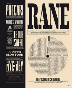 All sizes | IL34 — RANE | Flickr - Photo Sharing! #rane #typography #schwartz #muzzi #editorial #magazine #francesco