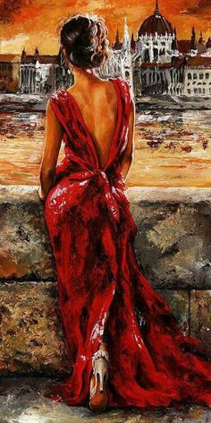 Paintings by Emerico Imre Toth #oil #paintings