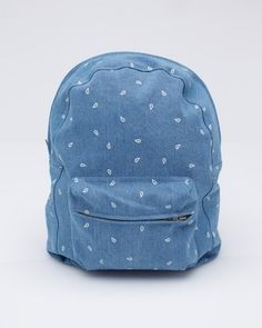 Dailymovement #rucksack #backpack #denim #bag #blue