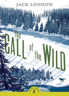 Call of the Wild can't find credit info #cover #trees #book #winter