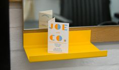 Joe and Co - Hyperkit #business card #hyperkit #joe and co