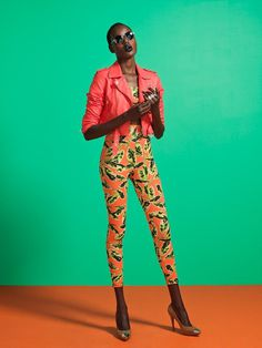 studio, colored backdrop, great colors #ajak deng