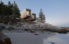 Two Hulls House by MacKay-Lyons Sweetapple Architects #architecture #house