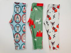 Image of MOUNTAIN DEER ORGANIC COTTON LEGGINGS