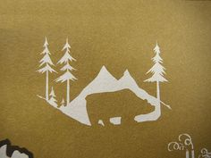 Bear/great outdoors. on Flickr - Photo Sharing! #illustration