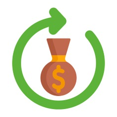 See more icon inspiration related to bank, flow, business and finance, money bag, dollar symbol, banking, currency, business and money on Flaticon.