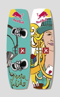Kitesurf #illustration #prototype #kitesurf #redbull