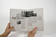 The Readies on Behance #grid