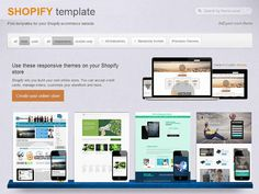 Our Best Shopify Template Online serivce will help you transform your business into successful online store! #shopify #shop #template