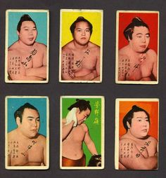 All sizes | Sumo Stars: Collect 'n' Trade! | Flickr - Photo Sharing! #color #cards #sumo #poster