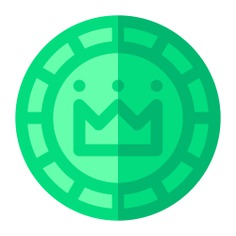 See more icon inspiration related to crown, coin, business and finance, finance and luxury on Flaticon.